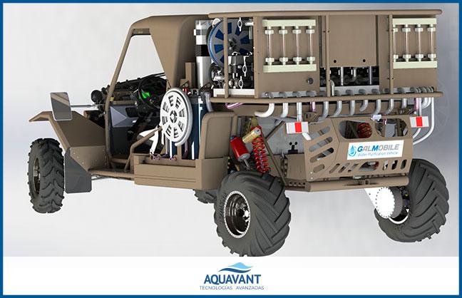 Vehículo de Purificación de Agua